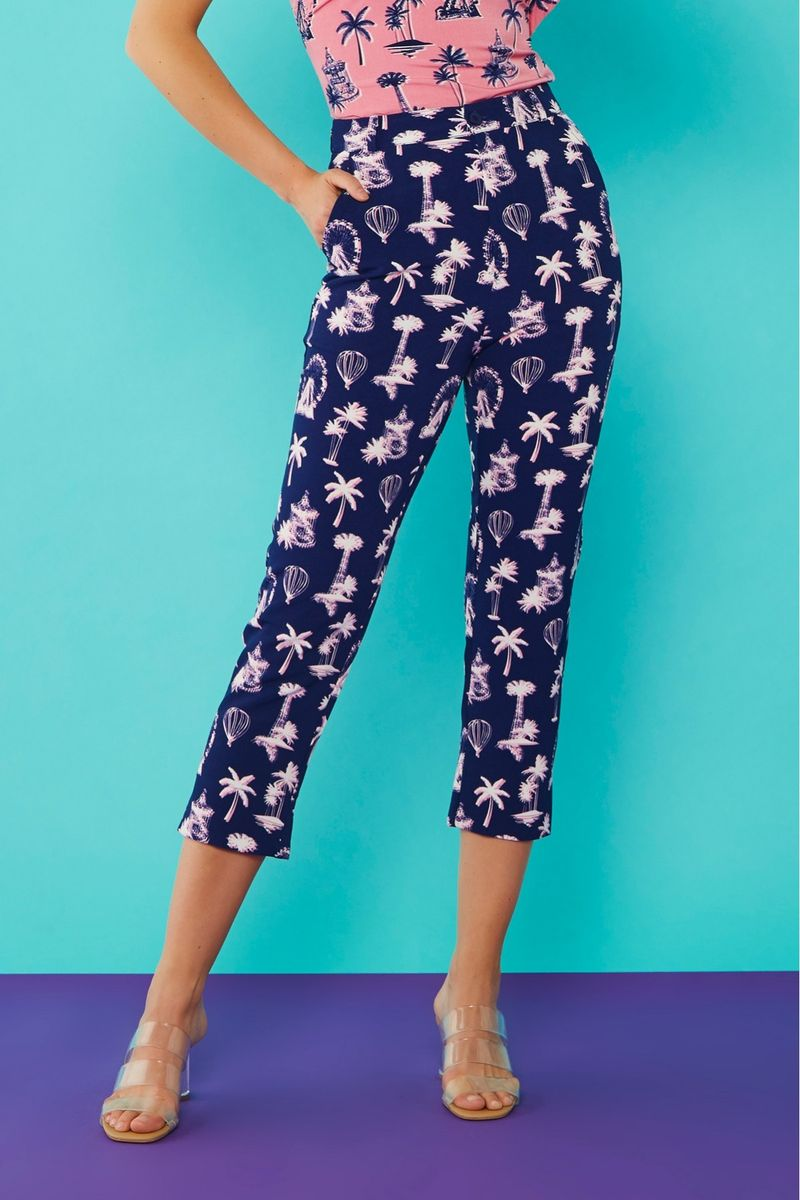 Minueto PALM TROUSERS