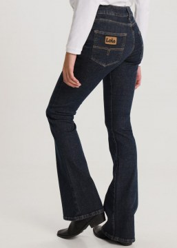 lois jeans coty flare minerva dark blue