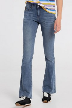 lois dara boot daem denim double stone