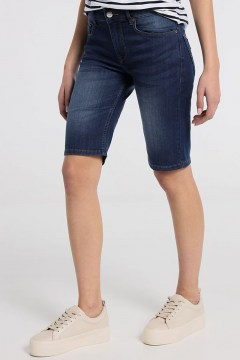 lois julia berm charlotte denim dark blue