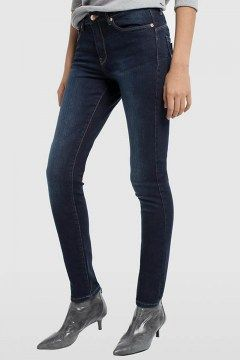 lois pantalon denim blue lua push up adeline