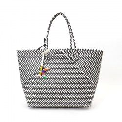 martinak straw color shopper negro
