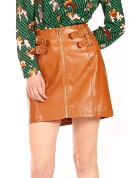 minueto brown skirt