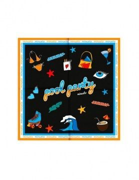 minueto panuelo pool party scarf