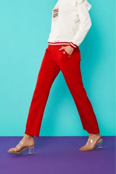 minueto red trousers
