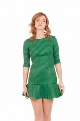 minueto vestido green park dress