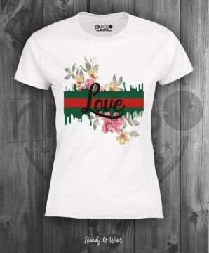 Narciso Camiseta Love White